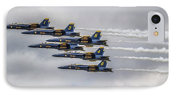 Blue Angels IPhone Case by Jeff Swanson
