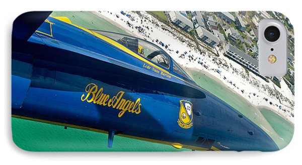 Blue Angels Over Pensacola Beach IPhone Case