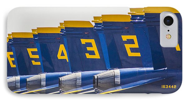 Blue Angels Wings IPhone Case