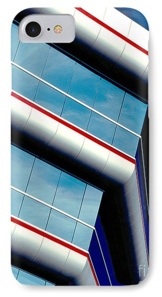 Blue Angled Phone Case by Gary Gingrich Galleries