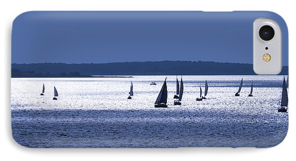 Blue Armada II IPhone Case by Douglas Pittman