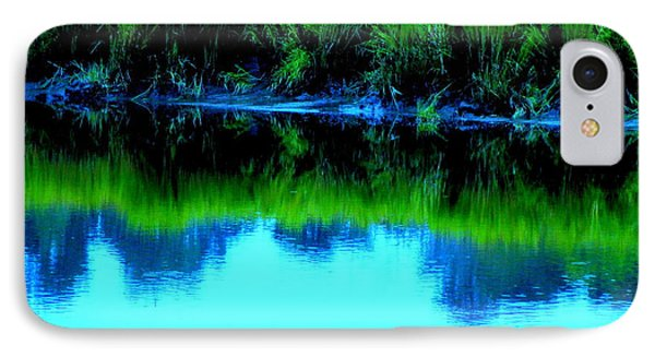 Blue Ashley Phone Case by Randall Weidner