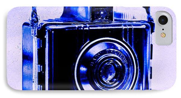 Blue Baby Brownie Special IPhone Case by Jon Woodhams