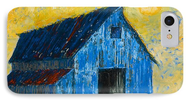 Blue Barn Number One Phone Case by Jerry McElroy