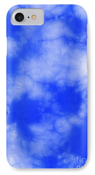 Blue Batik Pattern  Phone Case by Kerstin Ivarsson