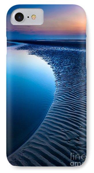 Blue Beach  Phone Case by Adrian Evans