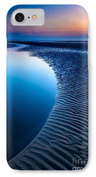 Blue Beach  IPhone Case by Adrian Evans