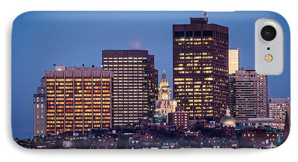 Blue Beacon Hill IPhone Case