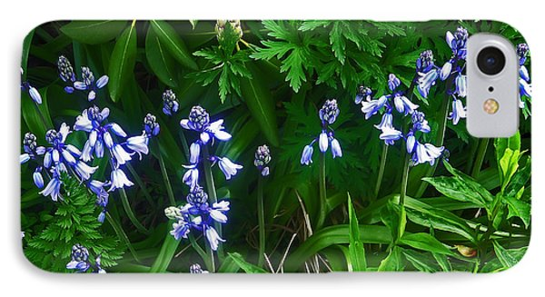 Blue Bells Phone Case by Aimee L Maher Photography and Art Visit ALMGallerydotcom