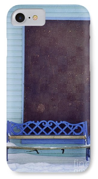 Blue Bench IPhone Case