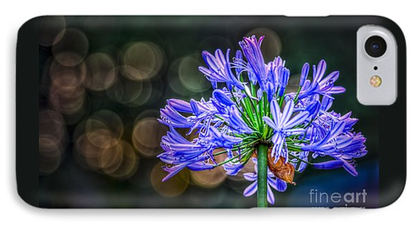 Blue Blooms IPhone Case by Marvin Spates