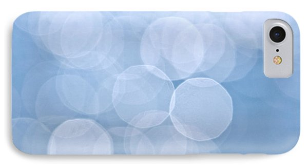 Blue Bokeh Background Phone Case by Elena Elisseeva