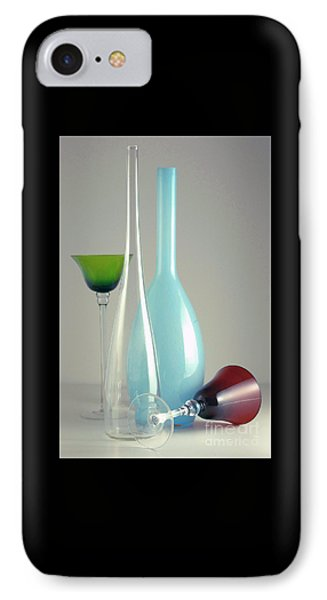 IPhone Case featuring the photograph Blue Bottle #2 by Elf Evans