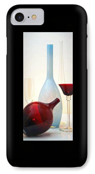 IPhone Case featuring the photograph Blue Bottle by Elf Evans