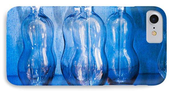Blue Bottles IPhone Case