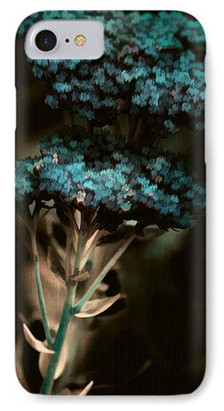 Blue Bouquet Phone Case by Bonnie Bruno