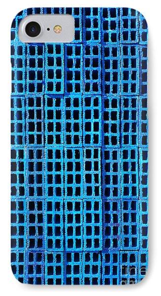 Blue Brick Wall IPhone Case