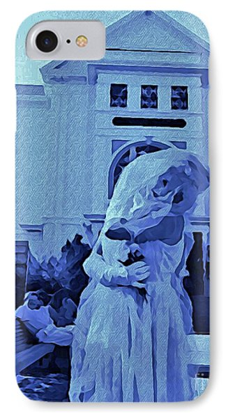 Blue Bride Phone Case by John Malone