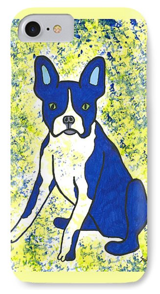 Blue Bulldog IPhone Case