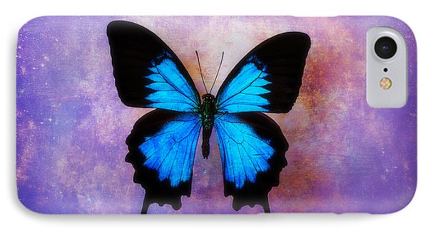Blue Butterfly Dreams IPhone Case by Garry Gay