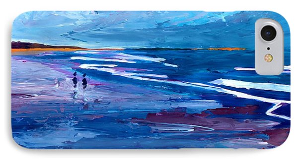 Blue Californian Seascape In Big Sur Phone Case by M Bleichner