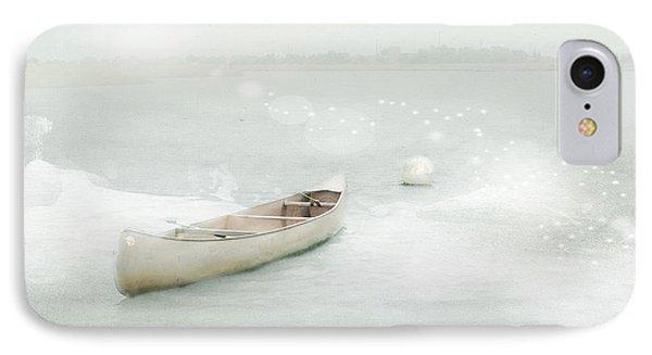 Blue Canoe IPhone Case by Karen Lynch