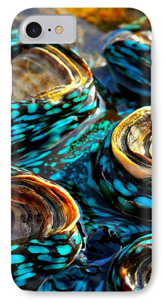 Far North Queensland iPhone 7 Case - Blue Clams by Casey Herbert