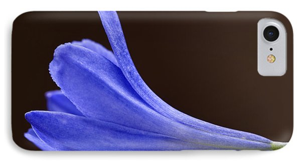 Blue Curve IPhone Case by Trevor Chriss
