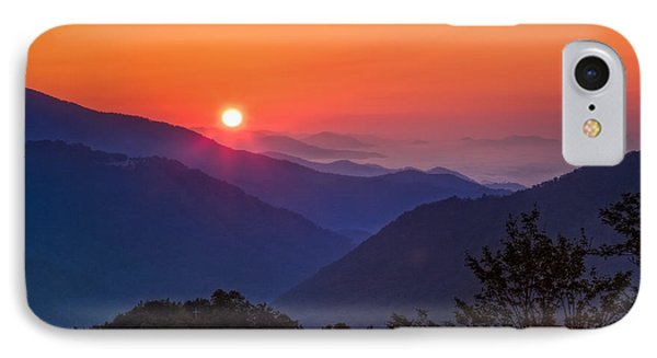 Blue Dawn IPhone Case by Deborah Scannell