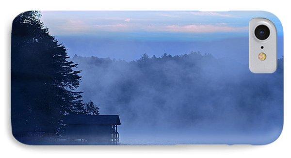 Blue Dawn Mist Phone Case by Susan Leggett