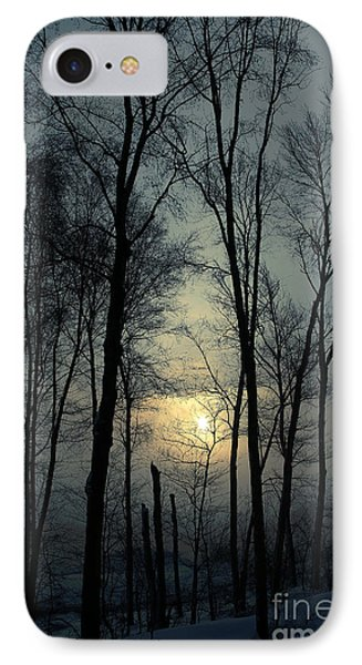 Blue Daybreak IPhone Case