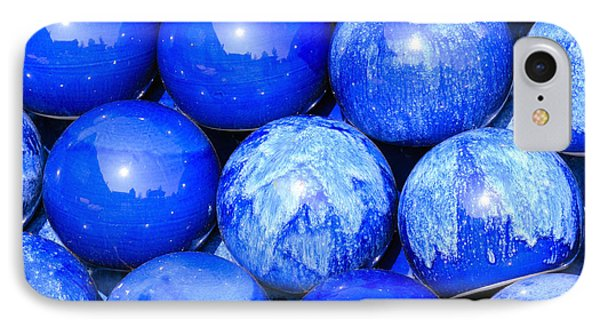 Blue Decorative Gems Phone Case by Tommytechno Sweden