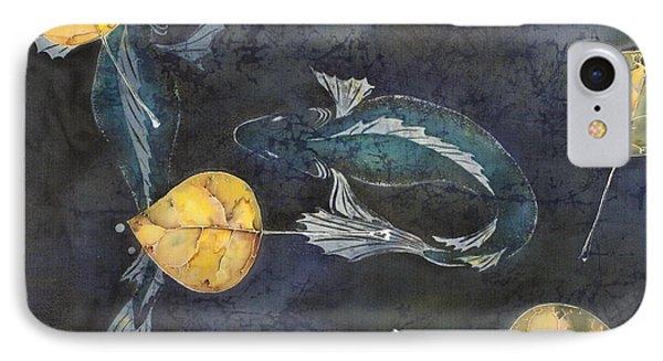 Blue Depths IPhone Case by Carolyn Doe