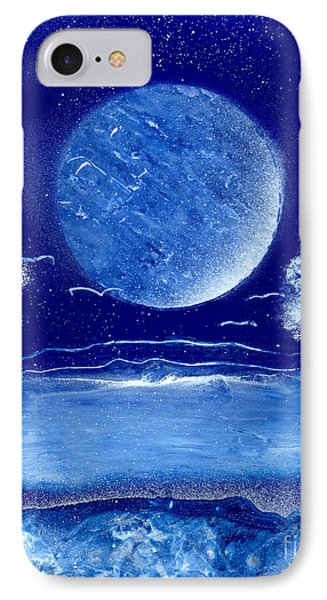 Blue Desert Night Phone Case by Marc Chambers