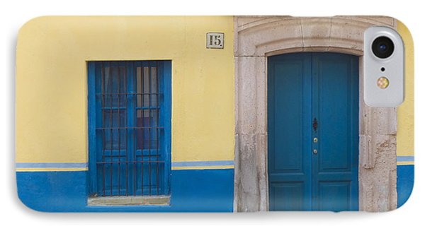 Blue Door Phone Case by Douglas J Fisher