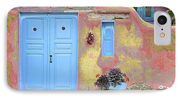 Blue Door In Ranchos IPhone Case