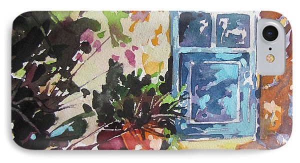 Blue Door Provence IPhone Case by Rae Andrews
