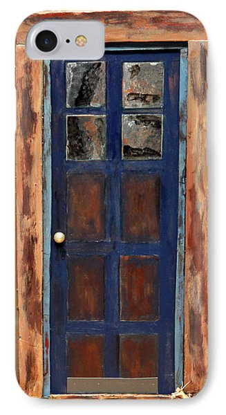 Blue Door Wyoming IPhone Case