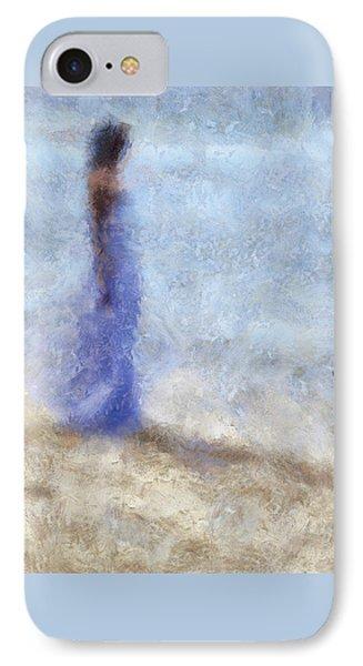 Blue Dream. Impressionism Phone Case by Jenny Rainbow