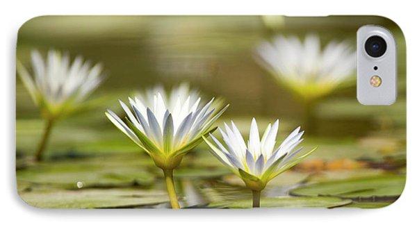 Blue Egyptian Lotus Nymphaea Caerulea IPhone Case