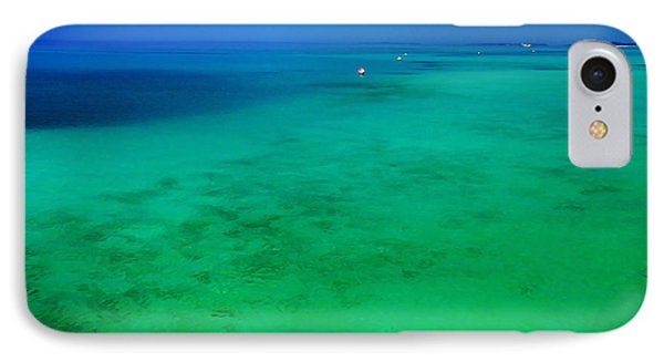 Blue Emerald. Peaceful Lagoon In Indian Ocean  Phone Case by Jenny Rainbow