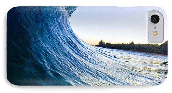 Blue Envelope  -  Part 1 Of 3 IPhone Case by Sean Davey