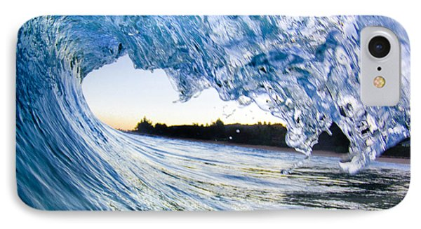 Blue Envelope  -  Part 2 Of 3 IPhone Case by Sean Davey