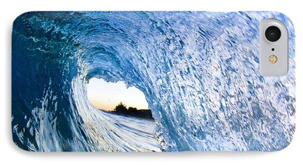 Blue Envelope  -  Part 3 Of 3 IPhone Case by Sean Davey