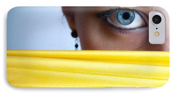 Blue Eye Phone Case by Jelena Jovanovic