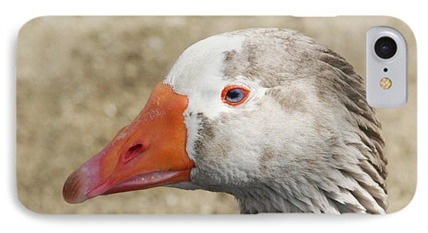 Blue-eyed Goose Phone Case by Bob and Jan Shriner