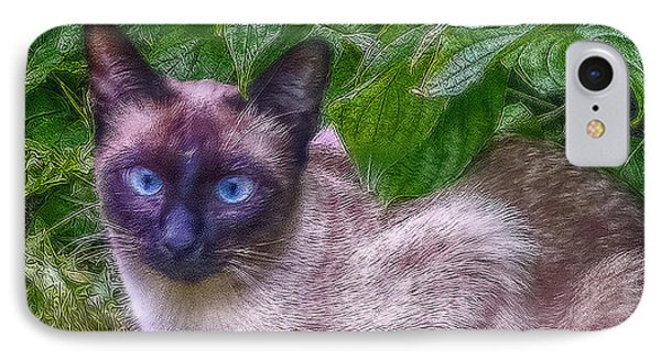 IPhone Case featuring the photograph Blue Eyes by Hanny Heim
