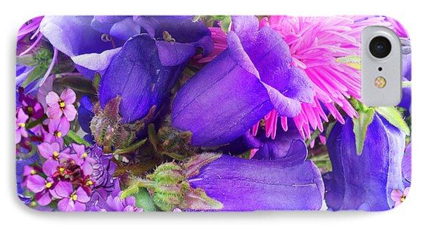 Blue Fairy Bells IPhone Case by Alixandra Mullins