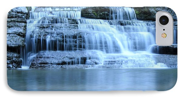 Blue Falls IPhone Case by Melissa Petrey