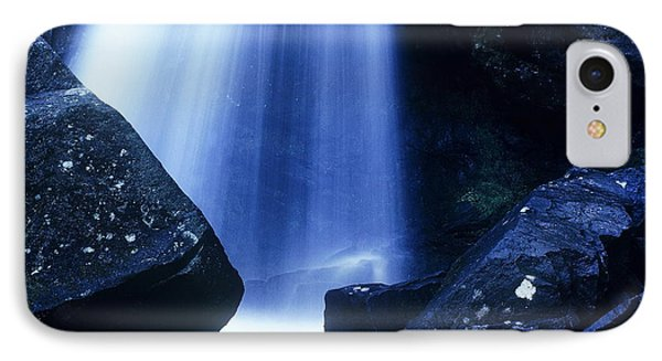 IPhone Case featuring the photograph Blue Falls by Rodney Lee Williams